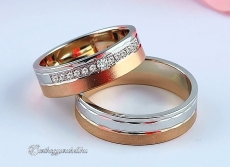 LK-472 Arany karikagyűrű, jegygyűrű