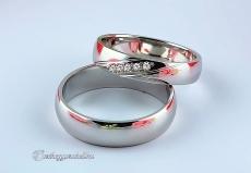 LK-474 Arany karikagyűrű, jegygyűrű