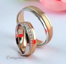 LK-475 Arany karikagyűrű, jegygyűrű