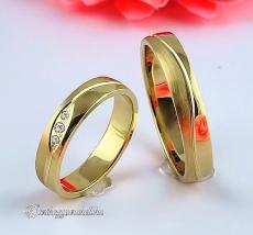 LK-477 Arany karikagyűrű, jegygyűrű