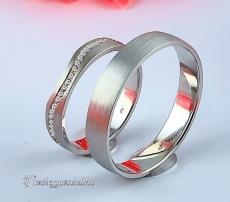 LK-478 Arany karikagyűrű, jegygyűrű