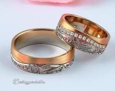 LK-479 Arany karikagyűrű, jegygyűrű