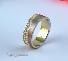 LK-482 Arany karikagyűrű, jegygyűrű