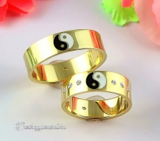 LK-483 Arany karikagyűrű, jegygyűrű