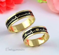 LK-485 Arany karikagyűrű, jegygyűrű
