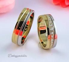 LK-486 Arany karikagyűrű, jegygyűrű