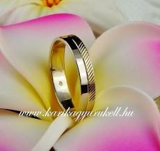 B-095 Arany karikagyűrű, jegygyűrű