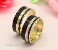 LK-487 Arany karikagyűrű, jegygyűrű