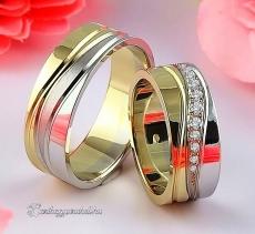LK-488 Arany karikagyűrű, jegygyűrű