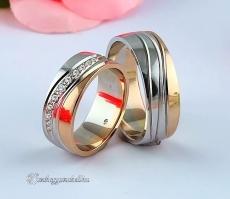 LK-489 Arany karikagyűrű, jegygyűrű