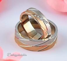 LK-490 Arany karikagyűrű, jegygyűrű