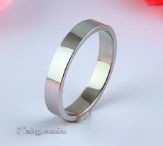 LK-4mm Lapos Arany karikagyűrű, jegygyűrű