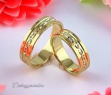 LK-493 Arany karikagyűrű, jegygyűrű