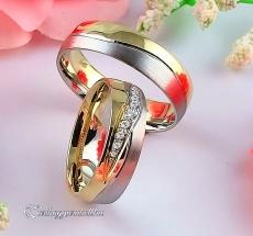 LK-494 Arany karikagyűrű, jegygyűrű