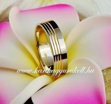 B-108 Arany karikagyűrű, jegygyűrű
