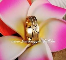 B-143 Arany karikagyűrű, jegygyűrű