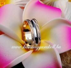 B-144-1 Arany karikagyűrű, jegygyűrű