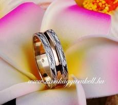 B-144-2 Arany karikagyűrű, jegygyűrű