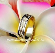 B-151 Arany karikagyűrű, jegygyűrű