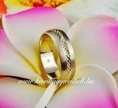 B-154 Arany karikagyűrű, jegygyűrű