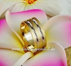 B-156 Arany karikagyűrű, jegygyűrű