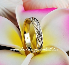 B-159 Arany karikagyűrű, jegygyűrű