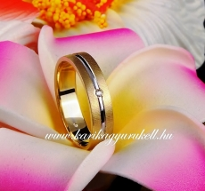B-171 Arany karikagyűrű, jegygyűrű