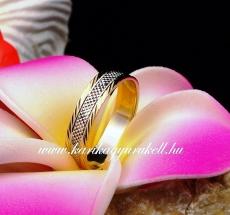 B-174 Arany karikagyűrű, jegygyűrű