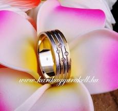 B-177 Arany karikagyűrű, jegygyűrű