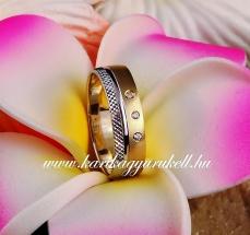 B-181 Arany karikagyűrű, jegygyűrű