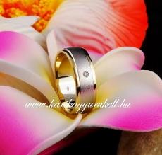B-192 Arany karikagyűrű, jegygyűrű