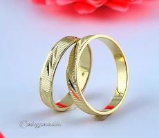 B-194 S Arany karikagyűrű, jegygyűrű