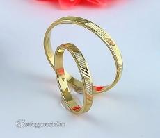 B-195 S Arany karikagyűrű, jegygyűrű