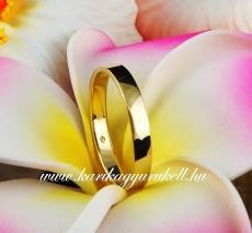 B-196 Arany karikagyűrű, jegygyűrű