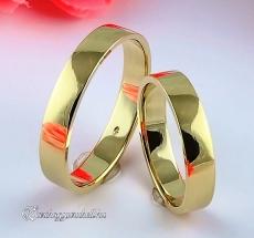 B-197 Arany karikagyűrű, jegygyűrű