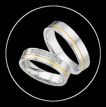 LK-276 Arany karikagyűrű, jegygyűrű