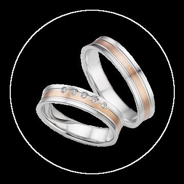 LK-278 Arany karikagyűrű, jegygyűrű