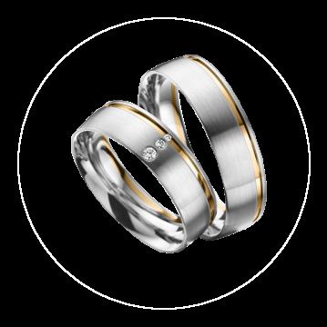 LK-283 Arany karikagyűrű, jegygyűrű