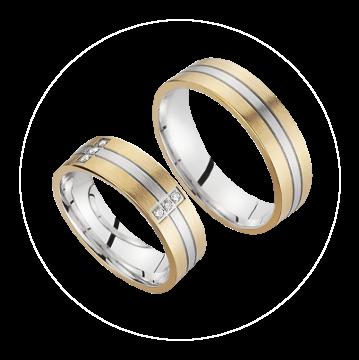 LK-291 Arany karikagyűrű, jegygyűrű