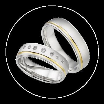 LK-305 Arany karikagyűrű, jegygyűrű