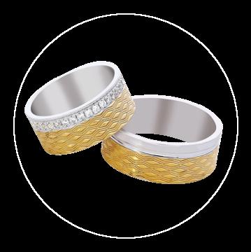 LK-309 Arany karikagyűrű, jegygyűrű