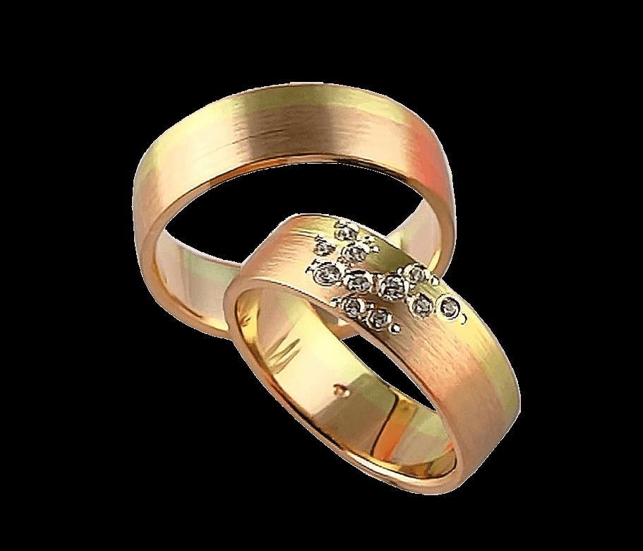 LK-378 Arany karikagyűrű, jegygyűrű